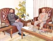 مظفرآباد: صدر اے جے کے سردار مسعود خان سے چیف منسٹر ٹاسک فورس برائے ..