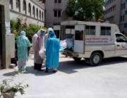 حیدرآباد، کورونا وائرس سے جاں بحق ہونے والے ٹنڈومحمد خان کے رہائشی ..