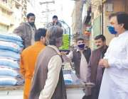 پشاور، خیبرپختونخوا کے وزیر محنت و ثقافت شوکت علی یوسفزئی پشاور کی ..