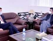 اسلام آباد: برطانوی ہائی کمشنر ، ڈاکٹر کرسچن ٹرنر نے وفاقی وزیر برائے ..