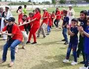 حیدرآباد: ملاک اسد سکندر کرکٹ گراونڈ کوٹری میں انٹر اسکولز اور اسپیشل ..