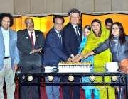 کراچی: جاپان کے قونصل جنرل اسومورا توشکازو ، کمشنر افتخار علی شلوانی ..