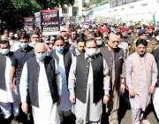لاہور، بھارت کے مقبوضہ کشمیر میں غاصبانہ قبضے کے 73 سال مکمل ہونے کی ..