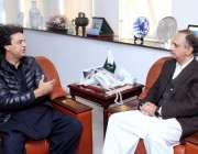 اسلام آباد: نوجوانوں کے امور سے متعلق وزیر اعظم کے معاون خصوصی محمد ..