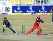 راولپنڈی، نیشنل ٹی ٹونٹی ٹورنامنٹ کے دوران بلوچستان اور ناردرن کے ..