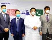 لاہور: صوبائی وزیر ٹرانسپورٹ جہانزیب خان کچھی کا چینی وفد سے ملاقات ..