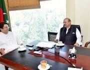 اسلام آباد پاکستان تحریک انصاف کے مرکزی چیف آرگنائز رسیف اللہ خان نیازی ..