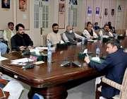 پشاور، وزیراعلی خیبرپختونخوا محمود خان کوہاٹ ڈویژن ترقیاتی منصوبے ..