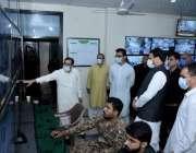 راولپنڈی کمشنر راولپنڈی یوم عاشورہ کے مرکزی جلوس کی مانیٹرنگ کے عمل ..