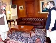 اسلام آباد: وزیر خارجہ مخدوم شاہ محمود قریشی پاکستان میں تعینات افغان ..