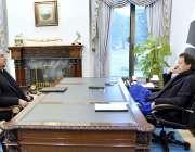 اسلام آباد: ڈاکٹر۔ بابر اعوان نے وزیر اعظم عمران خان سے ملاقات کی۔