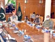 وزیراعظم عمران خان کی زیرصدارت منعقد نیشنل کوآرڈینیشن کمیٹی کے اجلاس ..