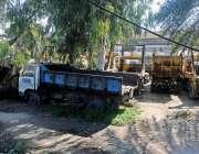 راولپنڈی: مناسب انتظام نہ ہونے کے باعث محکمہ ٹی ایم اے کی گاڑیاں کھڑی ..