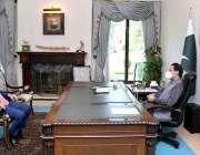 اسلام آباد، وزیراعظم عمران خان سے مشیر خزانہ عبدالحفیظ شیخ ملاقات ..