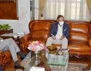 گورنر بلوچستان امان اللہ خان یاسین زئی سے اینگرو کارپوریشن کے صدر غیاث ..