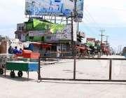 راولپنڈی: کوواڈ ۔19 کو روکنے کے لئے احتیاطی اقدامات کے طور پر لوگوں کی ..