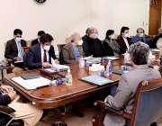 اسلام آباد، وزیراعظم عمران خان قیمتوں کے کنٹرول پر منعقدہ اجلاس کی ..