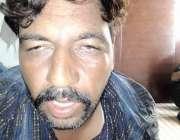 لاہور : لا ہور سیالکوٹ موٹروے زیادتی کیس میں گرفتار ملزم اقبال عرف بالامستری۔
