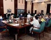 کراچی: وزیراعلی سندھ سید مرادعلی شاہ سندھ میں کورونا کے حوالے سے اجلاس ..