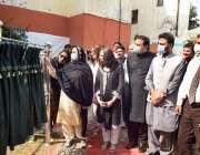 فیصل آباد، صوبائی وزیر برائے ترقی خواتین آشفہ ریاض فتیانہ واسا مرکزی ..