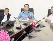 مظفرآباد:وزیر تعلیم بیرسٹر افتخارگیلانی مظفر آباد اور راولاکوٹ میں ..