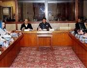 اسلام آباد: پارلیمنٹ ہاؤس میں چیئرمین اسٹینڈنگ کمیٹی برائے کابینہ ..