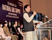 اسلام آباد: وزیراعظم عمران خان قدرتی گیس کی فراہمی سے متعلق سیمینار ..