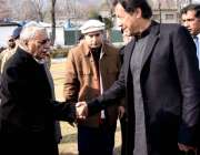 مظفرآباد: وزیراعظم عمران خان کو وزیراعظم آزاد کشمیر راجہ محمد فاروق ..