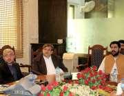 پشاور: محمد اقبال وزیر ، صوبائی وزیر ریلیف ڈیپارٹمنٹ کے پی ، محکمہ ریلیف ..