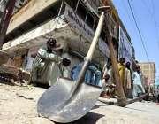 حیدرآباد: کورونا وائرس سے بچنے کے احتیاطی تدابیر کے لئے لاک ڈاؤن کے ..