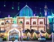 حیدرآباد، ربیع الاول کی مناسبت سے میمن مسجد کو خوبصورتی سے سجایا گیا ..