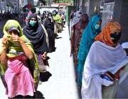 راولپنڈی: شہر میں گورنمنٹ احساس ایمرجنسی کیش پروگرام کے تحت نئی رجسٹریشن ..
