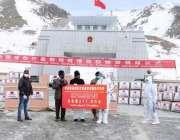 خنجراب، چین کی طرف سے 2 ٹن ماسک، ٹیسٹ کٹ وینٹی لیٹر، طبی حفاظتی لباس ..