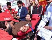اسلام آباد: ڈپٹی اسپیکر قومی اسمبلی قاسم خان سوری پارلیمنٹ ہاؤس میں ..