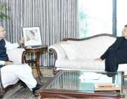 اسلام آباد: صدر مملکت ڈاکٹر عارف علوی سے وزیر اعظم عمران خان ملاقات ..
