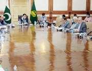 لاہور : وفاقی وزیر نجکاری کمیشن کے سربراہ میاں محمد سومروسول سیکرٹریٹ ..