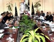 اسلام آباد: وزیر اعظم کے مشیر برائے خزانہ اور محصول ، ڈاکٹر عبدالحفیظ ..