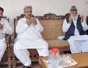 مظفرآباد: چیئرمین پبلک اکاونٹ کمیٹی عبدالرشید ترابی اسسٹنٹ ڈائریکٹر ..
