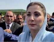 اسلام آباد مسلم لیگ (ن) کی نائب صدر مریم نواز اسلام ہائیکورٹ پیشی کے ..