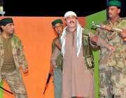 راولپنڈی، پنجاب آرٹس کونسل میں جدوجہد آزادی کشمیر پر مبنی ڈرامہ جلتی ..