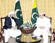 اسلام آباد: صدر پاکستان جے جے سردار مسعود خان سے چیئرمین پاکستان علماء ..