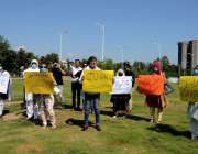 اسلام آباد: سیلون ما لکان مطالبات کے حق میں احتجاج کررہے ہیں۔