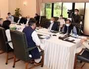 اسلام آباد: وزیراعظم عمران خان سے یواین ڈی پی کا وفد ملاقات کر رہا ہے۔