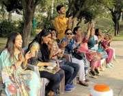 لاہور، پاکستان بائبل سوسائٹی کے زیر اہتمام ریس کورس میں منعقدہ سپورٹس ..