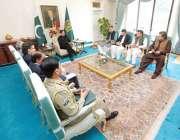 وزیر اعظم عمران خان ٹیلی کام انڈسٹری سے متعلق امور پر تبادلہ خیال کے ..