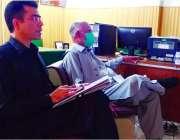 پشاور ، خیبر پختونخوا کے وزیرخوراک قلندرخان لودھی ویڈیو لنک کے ذریعے ..