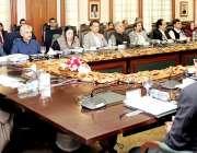 لاہور: وزیراعلی پنجاب سردارعثمان بزدار صوبائی کابینہ کے اجلاس کی صدارت ..