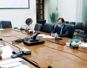 لاہور : صوبائی وزیر صحت ڈاکٹر یاسمین راشد محکمہ پرائمری اینڈ سیکنڈری ..
