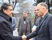 مظفرآباد : چیف سیکرٹری آزادکشمیر مطہر را نا کاایل ڈی آرسی امور آمد پر ..