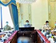 اسلام آباد: وزیراعظم عمران خان کی زیرصدارت وفاقی کابینہ کا اجلاس۔